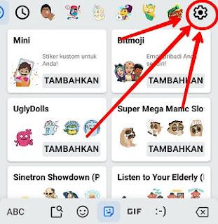 cara membuat emoji whatsapp dengan foto sendiri di android