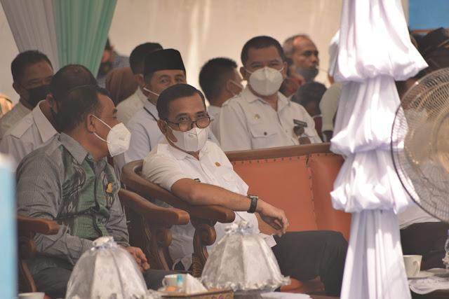 Ketua DPRD Hadiri Peletakan Batu Pertama Pembangunan Masjid Nur Ilham IKA SMPN 1 Sinjai