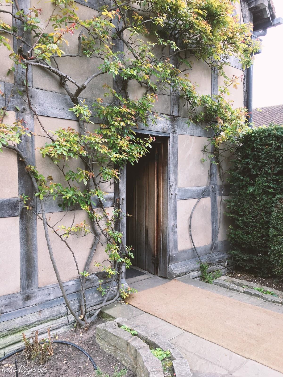 shakespeare's house, stratford