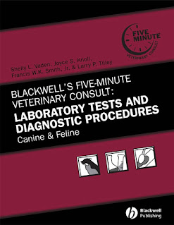 Laboratory Tests and Diagnostic Procedures, Canine and Feline