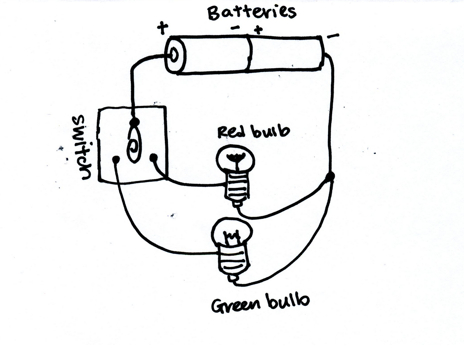 Light Bulb Battery System Diagram, Light, Free Engine