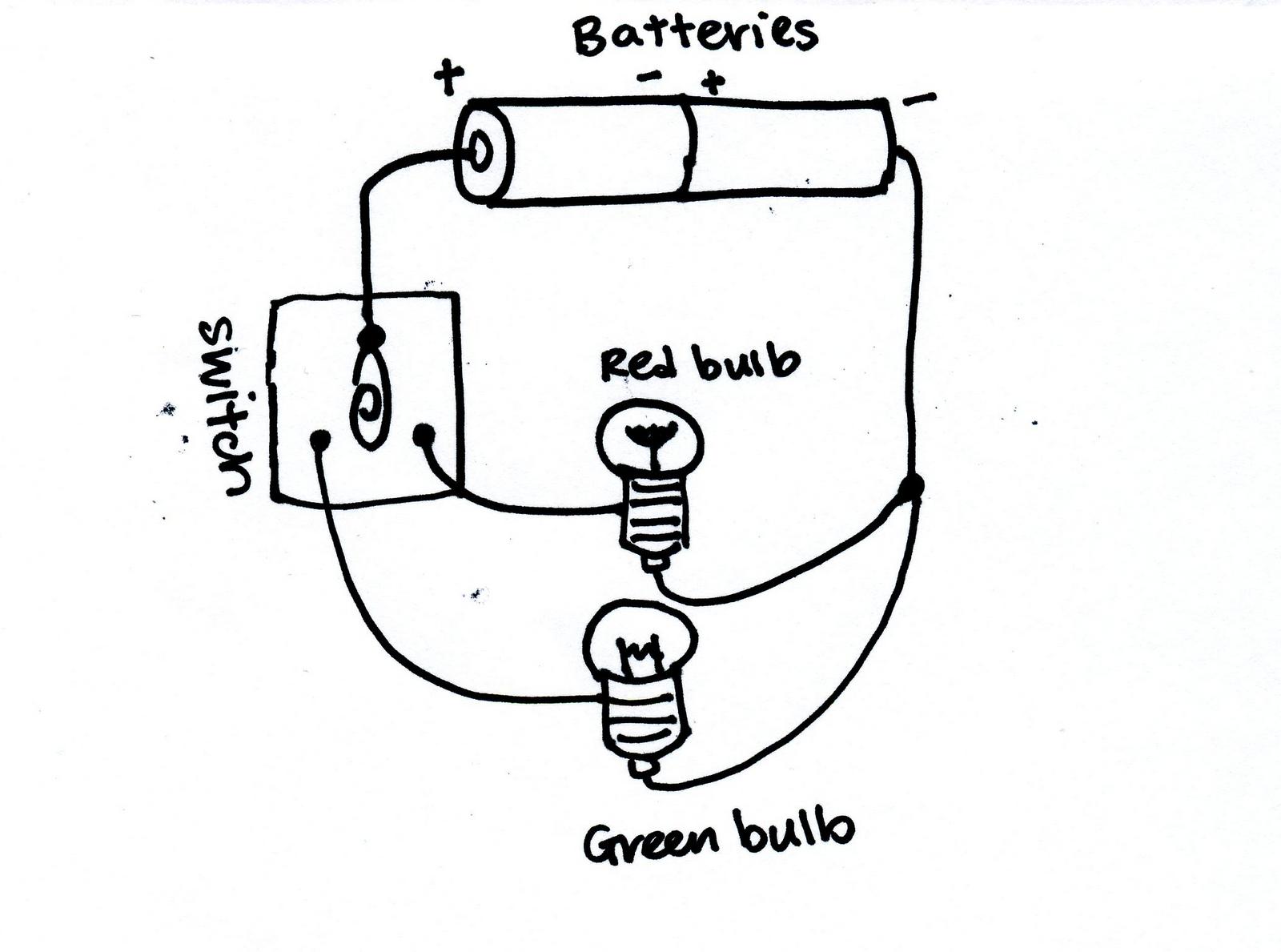 Light Bulb Battery System Diagram Light Free Engine