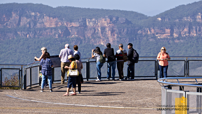 Echo Point Katoomba Blue Mountains Australia