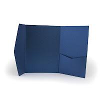 BLU+OCEANO NOVITA' 2013 - Partecipazioni Pocket colorate perlescentiAvvisi - Novità