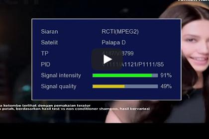 √ Data Kumpulan Frekuensi RCTI Terbaru Dari Berbagai Sumber