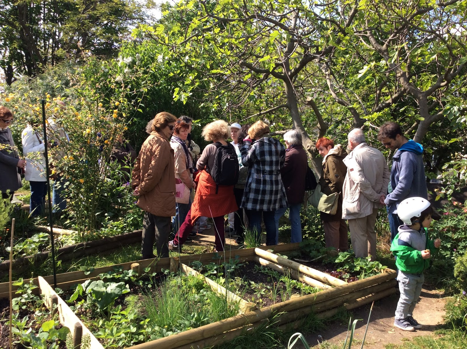 Habitants du plateau des buttes chaumont visite guid e du for Aide jardin conseil
