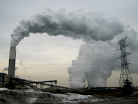 Pollution from a coal-fired power plan. (Credit: ribarnica/flickr) Click to Enlarge.