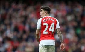 [Photo] Hector Bellerin Sends Out Message Ahead of Man City Game