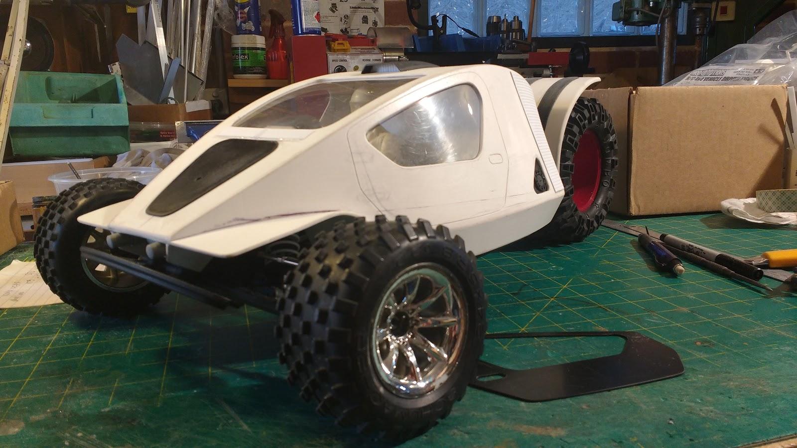 Rc Sci Fi Reverse Trike Part 3