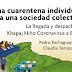 Una cuarentena individual para una sociedad colectiva: La llegada y despacho del Khapaj Niño Coronavirus a Bolivia