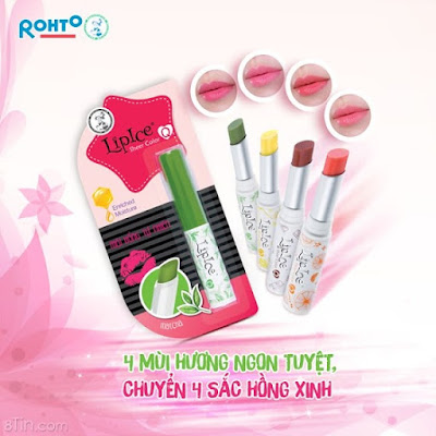 Review Lipice Sheer Color Q Jelly - Son Dưỡng có Mầu giá rẻ, son lipice, son lip ice, son giá rẻ, son cho teen, son bình dân, son dưỡng, son hàn quốc