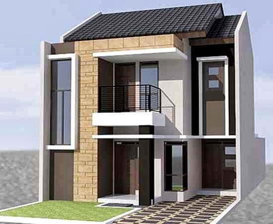 Contoh  Desain Teras Rumah  Minimalis 2  Lantai  Tingkat
