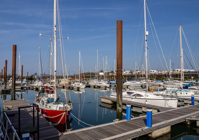 Photo of sunshine at Maryport Marina on Good Friday
