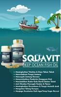Minyak Ikan Hiu isi 40 ORIGINAL - Squalene Omega 3 Cucut Botol Laut SQUAVIT SS
