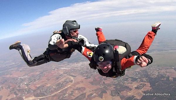 Kurs AFF skydive Atmosfera