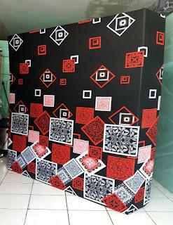 Kasur inoac motif darkmoon wajik orange