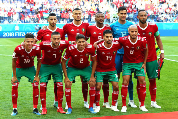 تشكيل المغرب ضد بورندى عبر سوفت سلاش