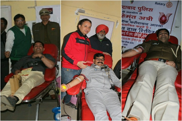 blood-donation-by-faridabad-police-in-civil-line