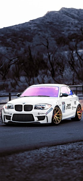 BMW M3 car on road during daytime wallpaper