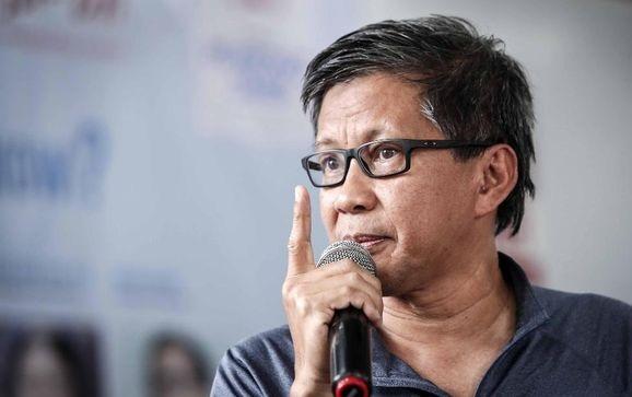 Rocky Gerung Sindir Sandiaga Ikut Kampanye Wakaf Jokowi