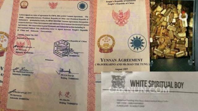 Ada Fotonya, Cak Nun Minta Jokowi Bikin Tim Cari Harta Karun Bung Karno