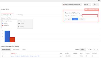 Cara Daftarkan Sitemap Blogspot di Google Webmaster