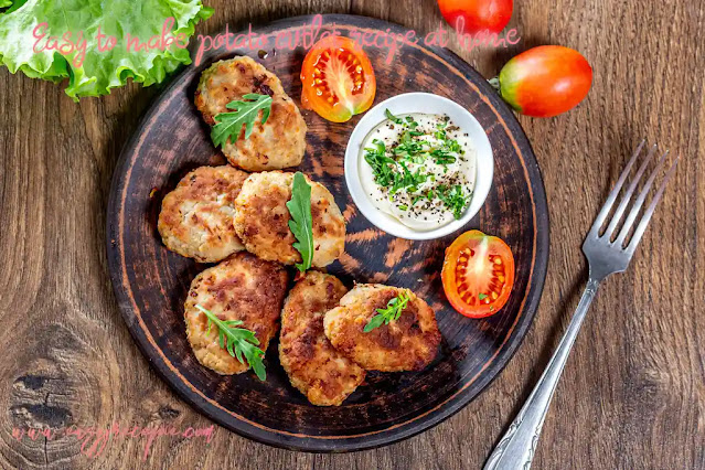 Easy to make potato cutlet recipe at home