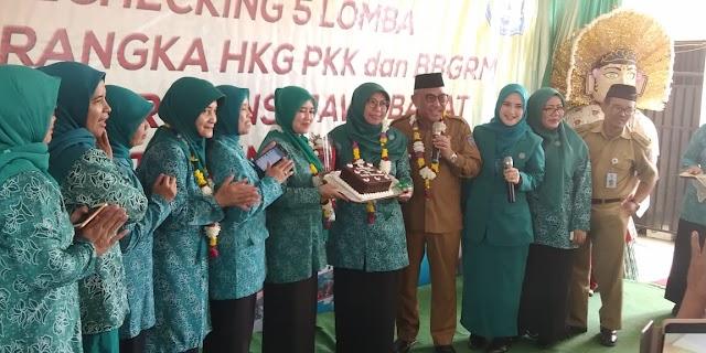 Ulang Tahun Ibu Wakil Gubernur Jawa Barat di Kelurahan Tanah Baru Kota Depok