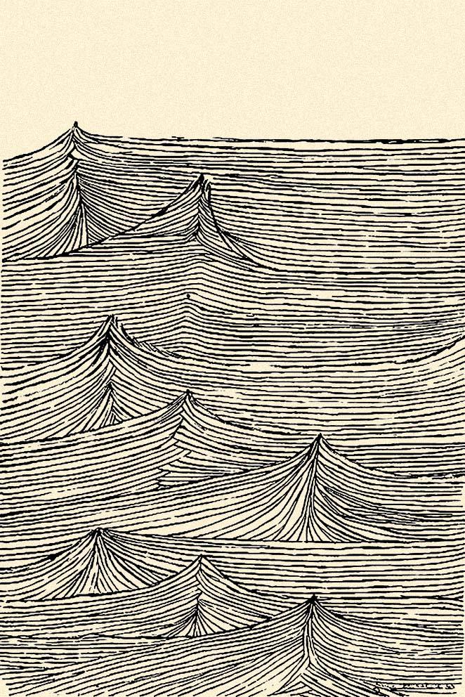Luzyarte: Louise Bourgeois y un dibujo para meditar, y para hacer mano