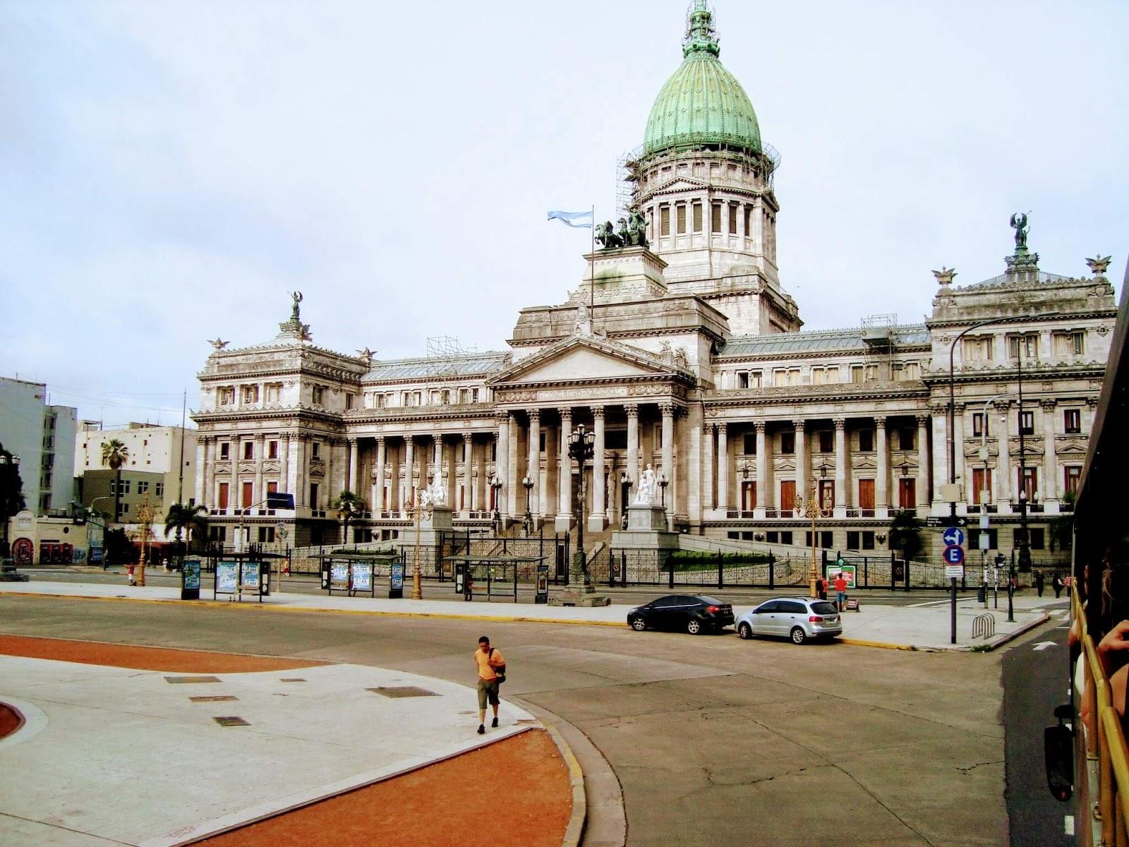 Palácio do Congresso da Nação Argentina - O que fazer em Buenos Aires