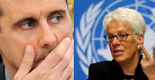 H Carla Del Ponte η δολοφόνος του Σ.Μιλόσεβιτς ως επικεφαλής Επιτροπής Έρευνας του ΟΗΕ κατηγορεί τον Άσαντ για χημικά…