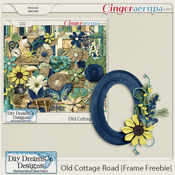 New at GingerScraps plus a freebie