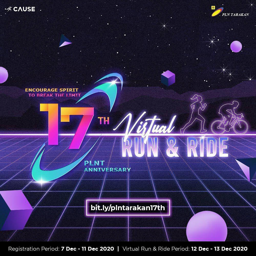 17th PLNT Anniversary Virtual Run & Ride • 2020