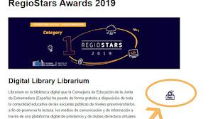 Librarium ya es finalista de los Premios Regio-Star: ¡vota para que ganemos!