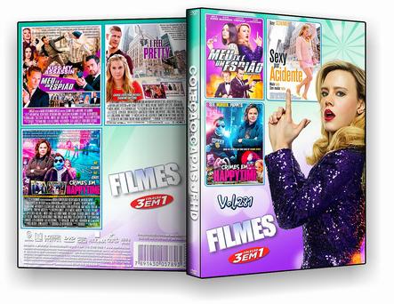 DVD Coleção filmes 3X1 VOL 281 - ISO