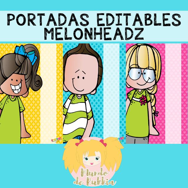 portadas-editables-niños-melonheadz