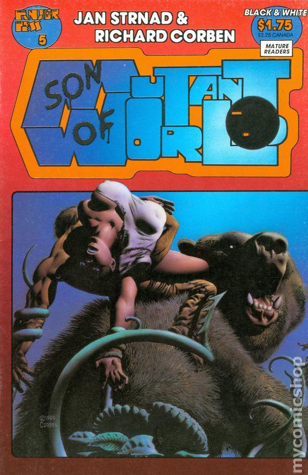 Portada de Son of Mutant World #5, de Richard Corben y Jan Strnad