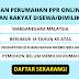 Cara Memohon Perumahan PPR Online Program Perumahan Rakyat Disewa/Dimilki Myhome 2020