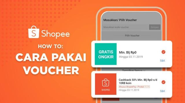 Cara Melihat Syarat dan Ketentuan Voucher di Shopee
