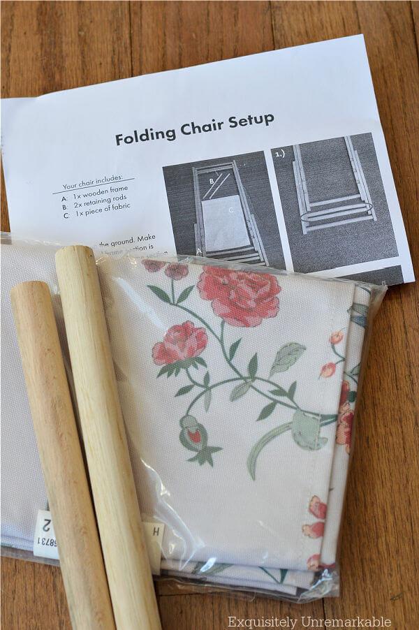 Folding Chair Set Up