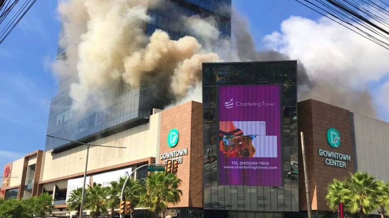 Video: Se registra incendio en Downtown Center