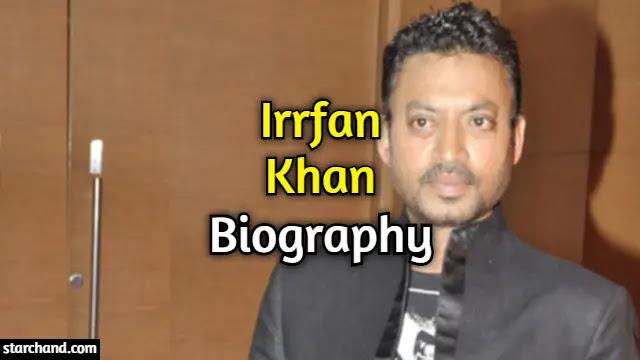 Irrfan Khan Biography