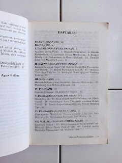 Bab Dalam Buku Risalah Nikah