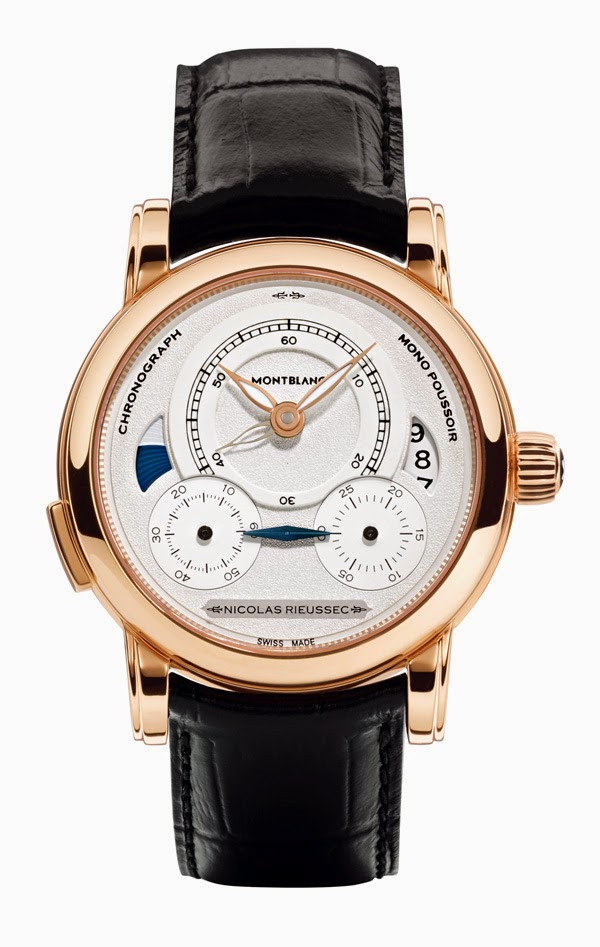 Montblanc Homage to Nicolas Rieussec - Swiss made watch.