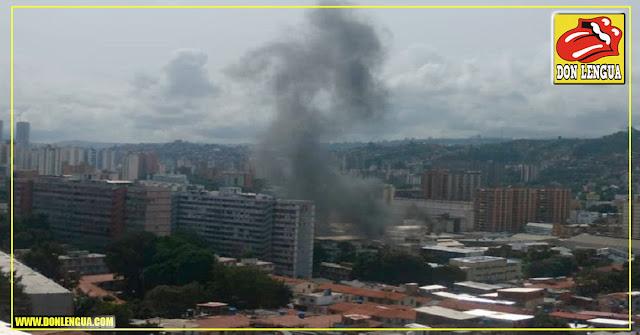 Explotó la Estación Eléctrica de la Parroquia San Juan en Caracas