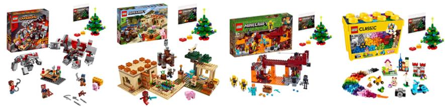 クリスマス特典レゴセットAmazonで予約開始!マイクラとクラシック(2020)