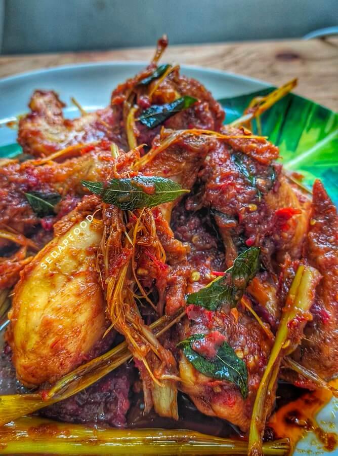 resepi viral ayam masak bali