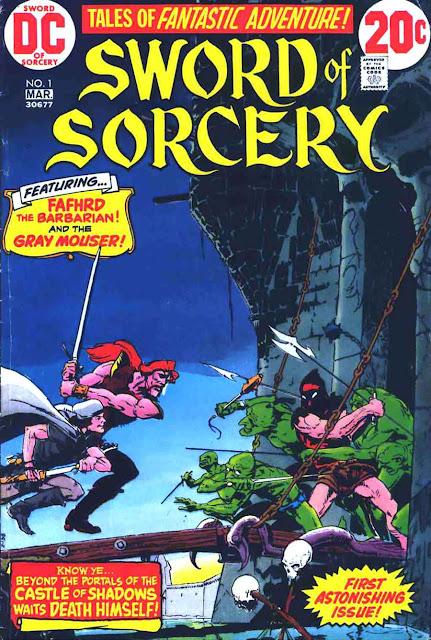 Sword of Sorcery v1 #1, 1973 dc bronze age comic book cover