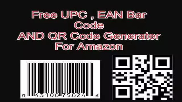 Free UPC Bar code Generater EAN number ISBN Generater for Amazon