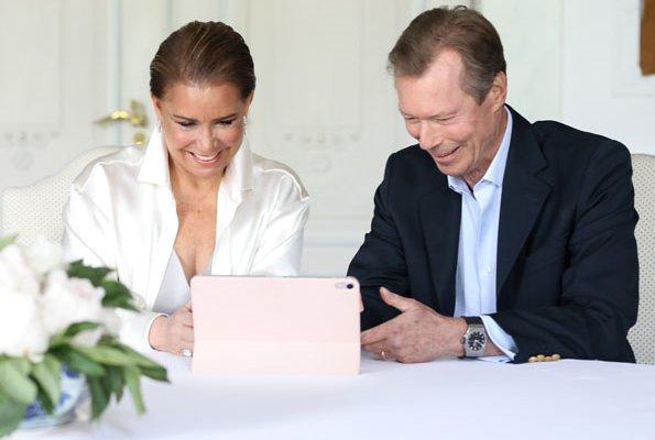 Prince Charles Jean Philippe Joseph Marie Guillaume. Princess Stephanie, Duchess Maria Teresa